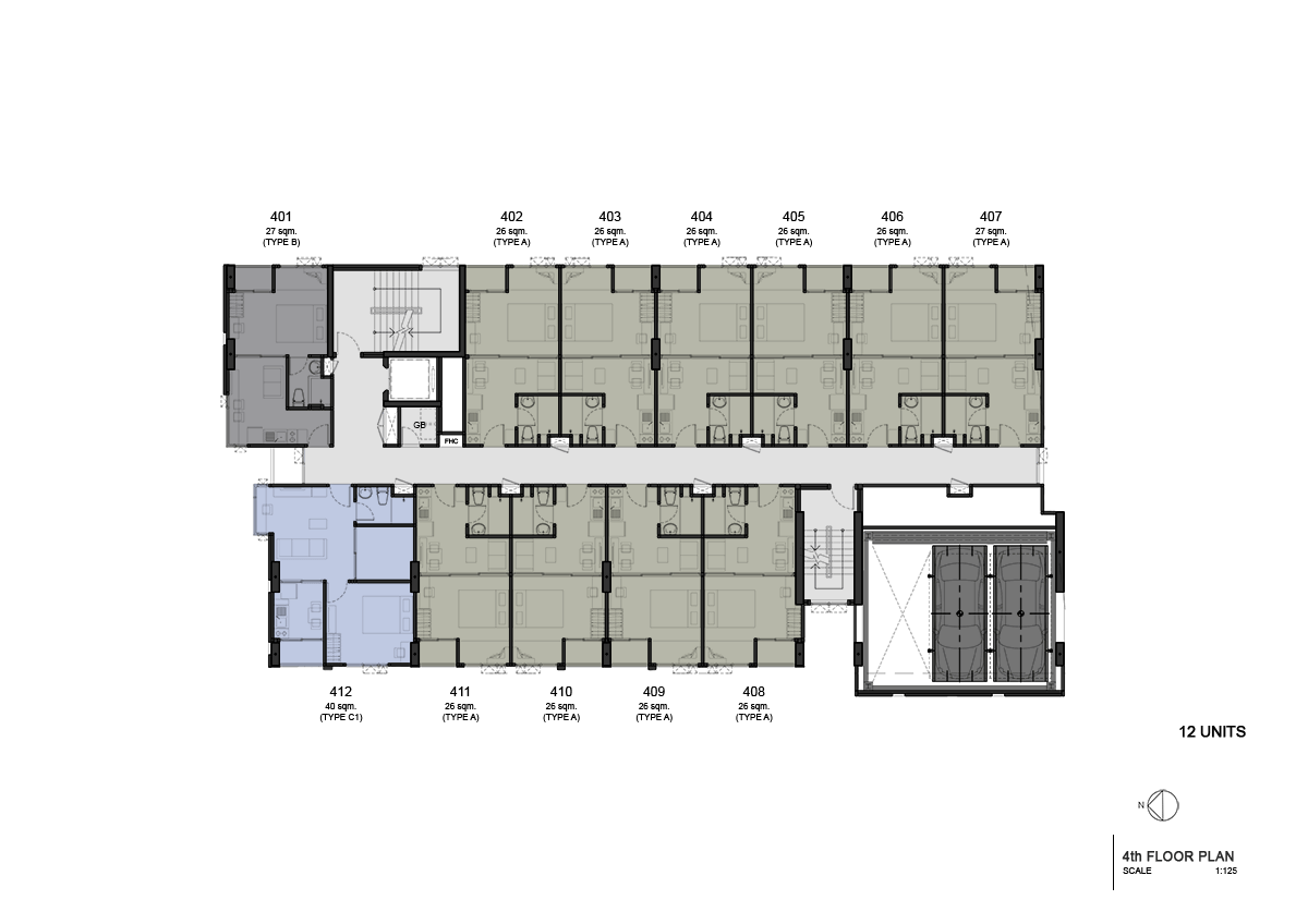 Floor Plan 4th