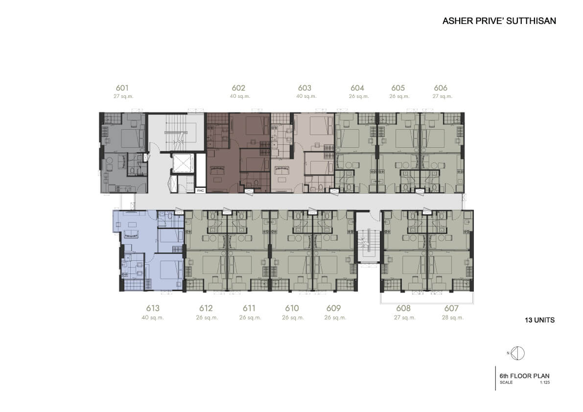 Floor Plan 6th