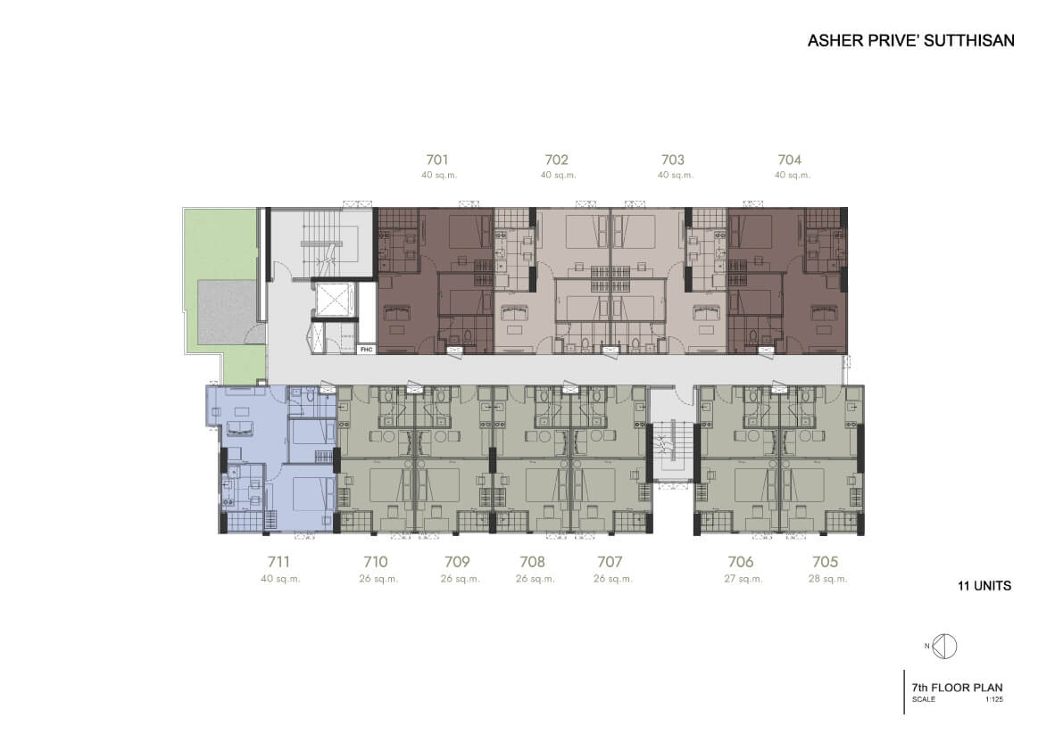 Floor Plan 7th